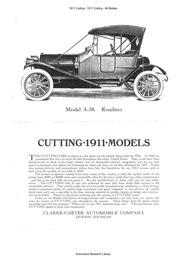 1911 Cutting   All Models (7pgs)