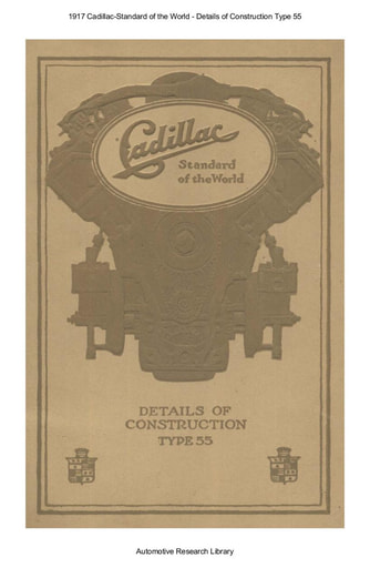 1917 Cadillac   Details of Construction Type 55 (32pgs)