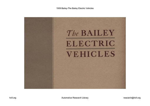 1909 Bailey   Electric Vehicles (12pgs)