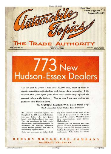 Auto Topics | 1931 Jul 25