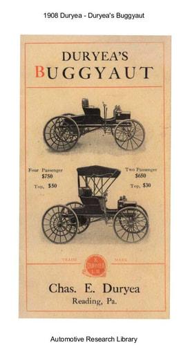 1908 Duryea Buggyaut (16pgs)