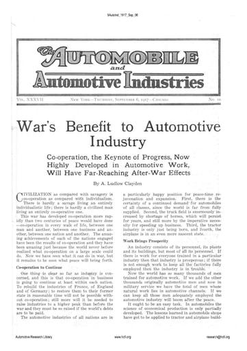Auto Industries 1917 09 06