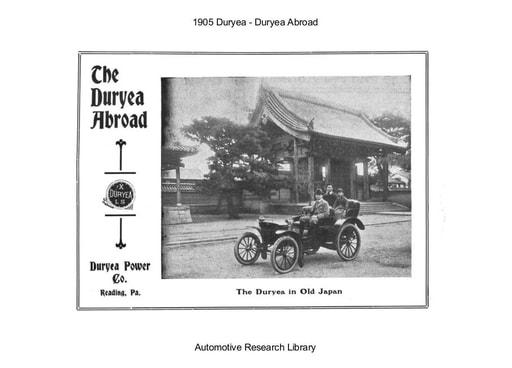 1905 Duryea   Abroad (4pgs)