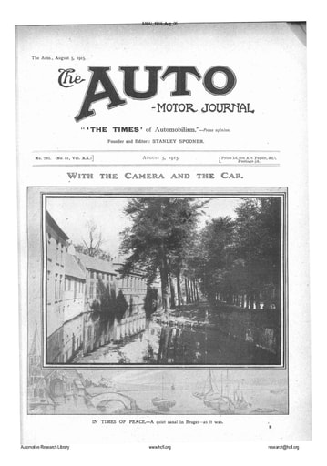 Auto Motor Journal | 1915 Aug 05