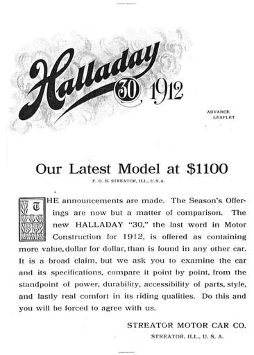 1912 Halladay   Mod  30 (4pgs)