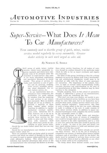 Auto Industries 1929 05 18
