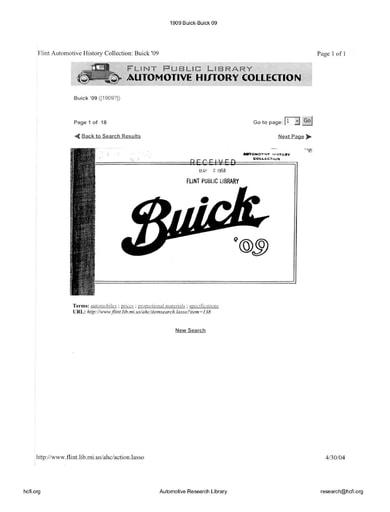 1909 Buick   09 (17pgs)