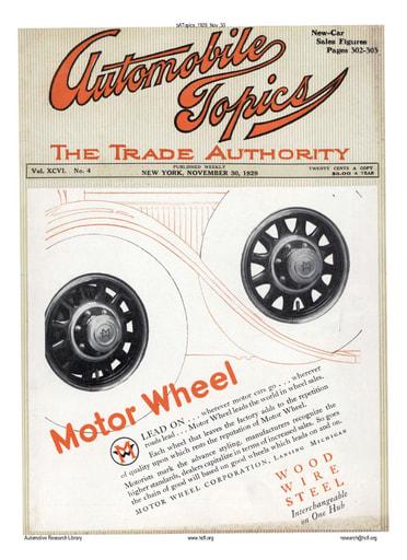 Auto Topics | 1929 Nov 30