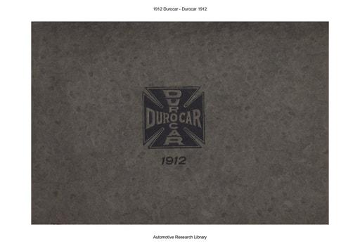 1912 Durocar (33pgs)