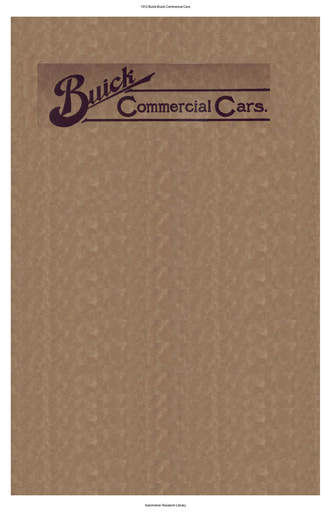 1912 Buick   Commerical Cars (33pgs)