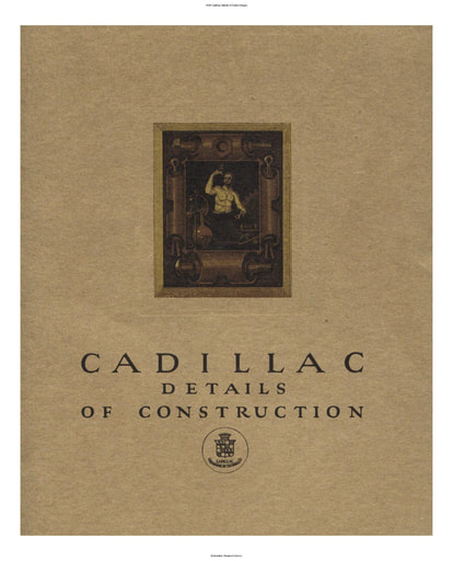 1920 Cadillac   Details of Const  (34pgs)