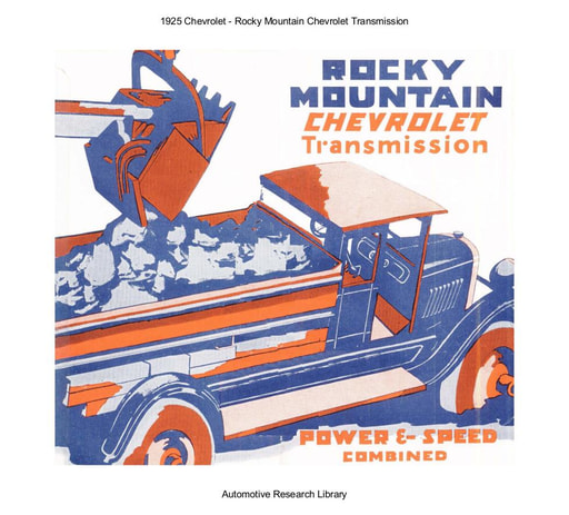 1925 Chevrolet   Rocky Mountain Transmission (4pgs)