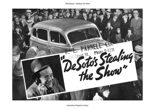 1935 Desoto   Stealing The Show (24pgs)
