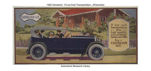 1922 Cleveland   If Low Cost Transportation   (Postcards) (2pgs)