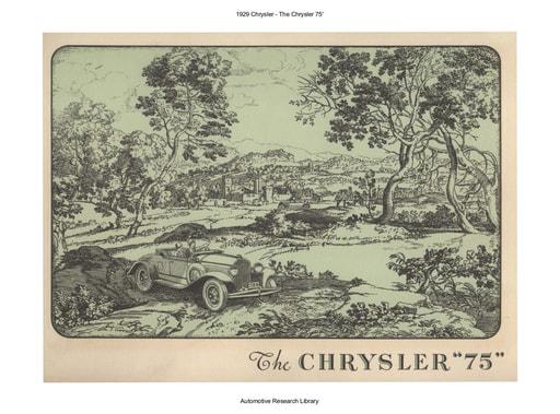 1929 Chrysler   The Chrysler 75' (16pgs)