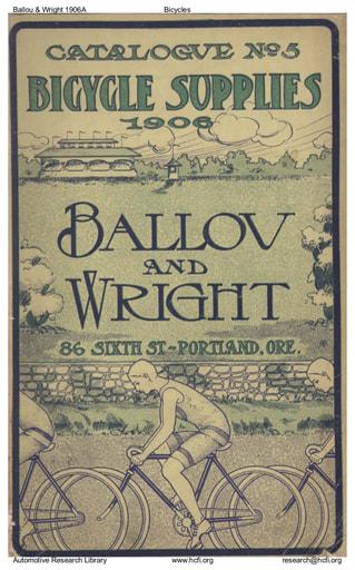 1906 Est Ballou & Wright
