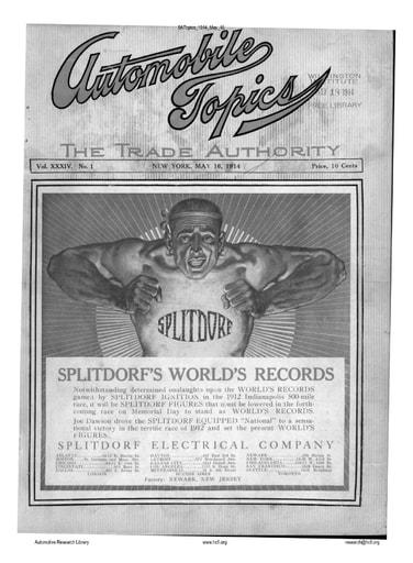 Auto Topics | 1914 May 16