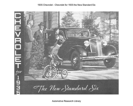 1935 Chevrolet   The New Standard Six (8pgs)