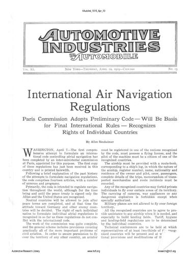 Auto Industries 1919 04 10