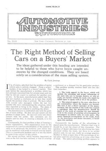 Auto Industries 1920 12 30