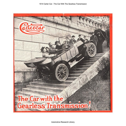 1914 Carter Car   The Car With The Gearless Transmission (8pgs)