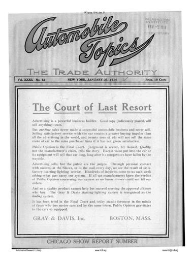 Auto Topics | 1914 Jan 31