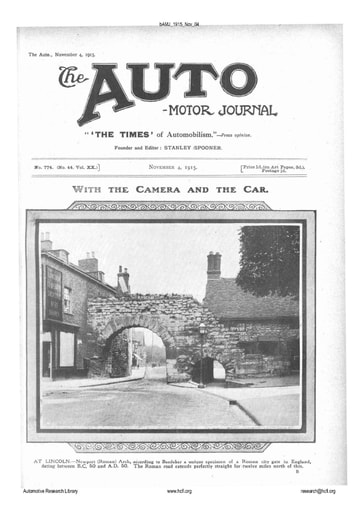 Auto Motor Journal | 1915 Nov 04
