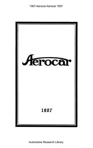 1907 Aerocar (10pgs)