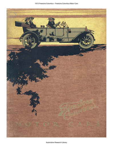 1913 Firestone Columbus Motor Cars (18pgs)