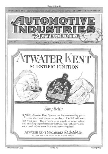 Auto Industries 1919 01 09