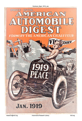 American Automobile Digest - 1919 January