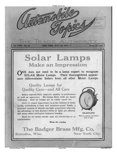 Auto Topics | 1912 Jul 20