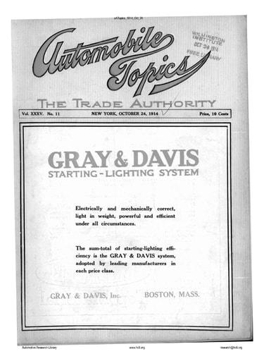 Auto Topics | 1914 Oct 24