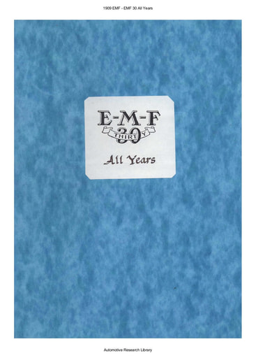 1909 EMF   30 All Years (105pgs)