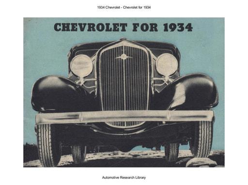 1934 Chevrolet (32pgs)