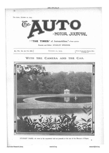 Auto Motor Journal | 1915 Oct 21
