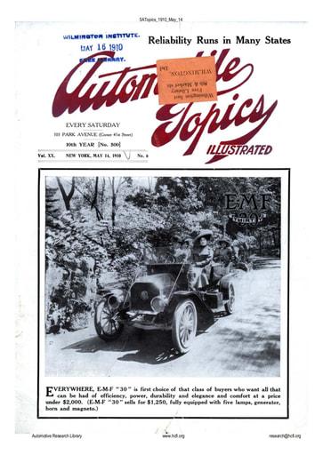 Auto Topics | 1910 May 14