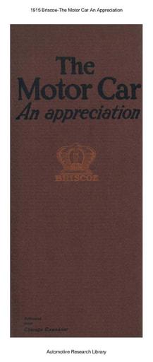 1915 Briscoe   An Appreciation (7pgs)