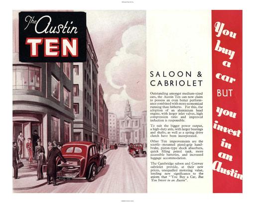 1938 Austin British The Ten