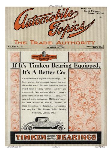 Auto Topics   1931 Oct 24