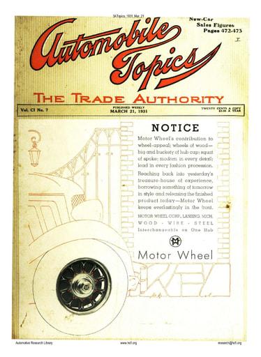 Auto Topics | 1931 Mar 21