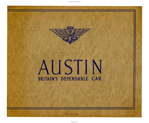 1938 Austin British  Britain's Dependable Car (5pgs)