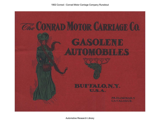 1902 Conrad Motor Carriage Co  Runabout (9pgs)