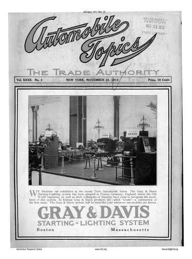 Auto Topics | 1913 Nov 22