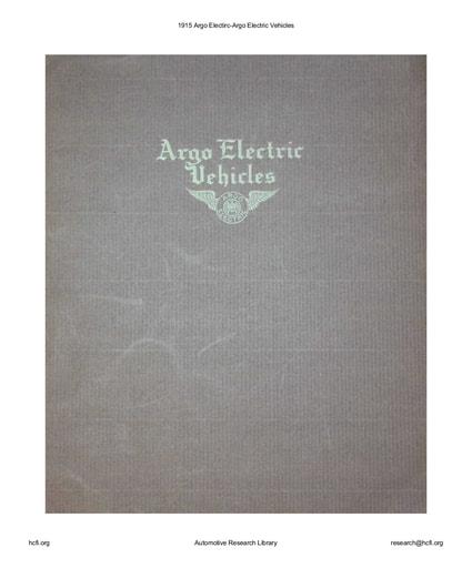 1915 Argo Electirc   Electric Vehicles (11pgs)