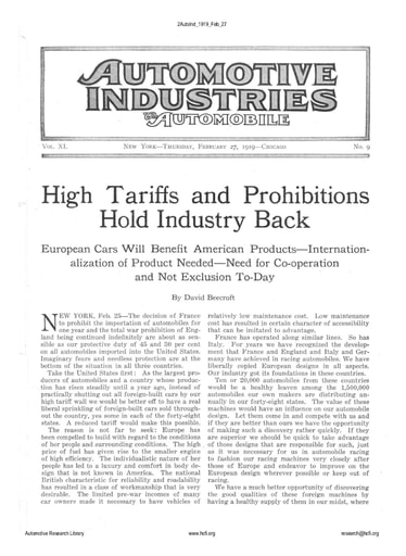 Auto Industries 1919 02 27