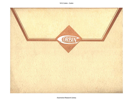 1912 Corbin (10pgs)
