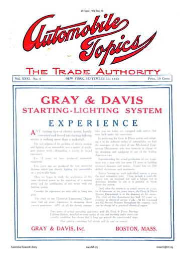 Auto Topics | 1913 Sep 13
