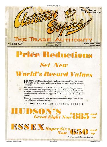 Auto Topics | 1930 Sep 20