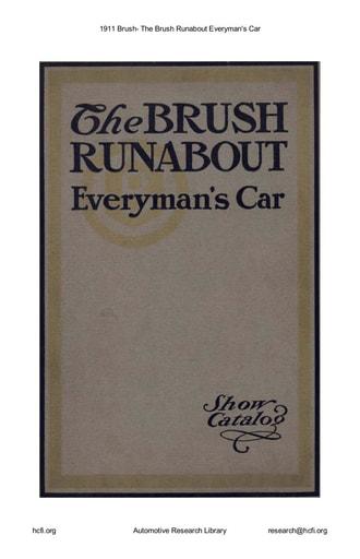 1911 Brush   Everyman's Car (34pgs)